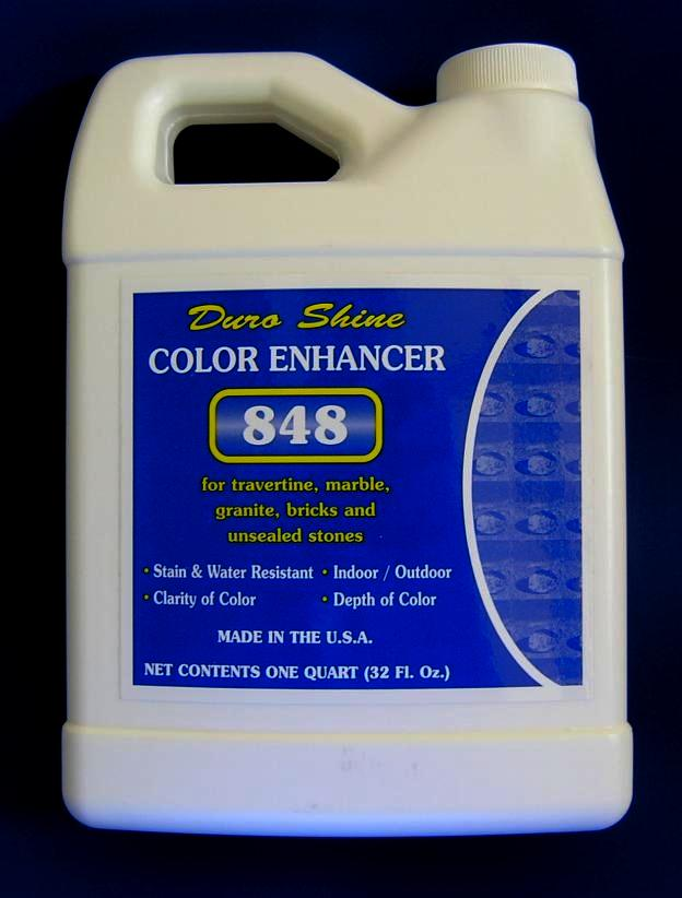 WET LOOK COLOR ENHANCER FOR TRAVERTINE, MARBLE, BRICKS AND STONES